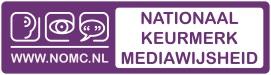 Logo Nationaal Keurmerk Mediawijsheid2